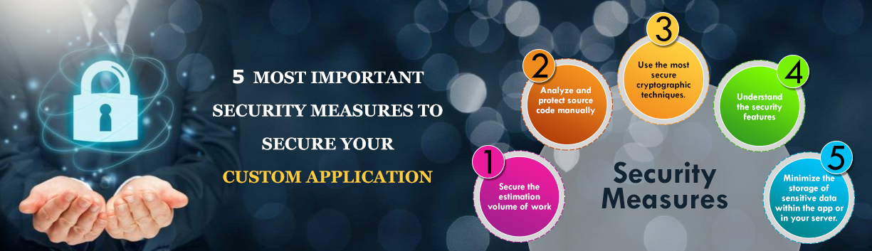 5 most important security measures to secure your custom application5 most important security measures to secure your custom application